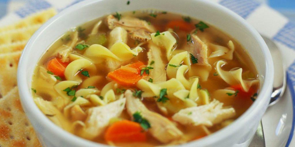 zuppa della nonna con pasta