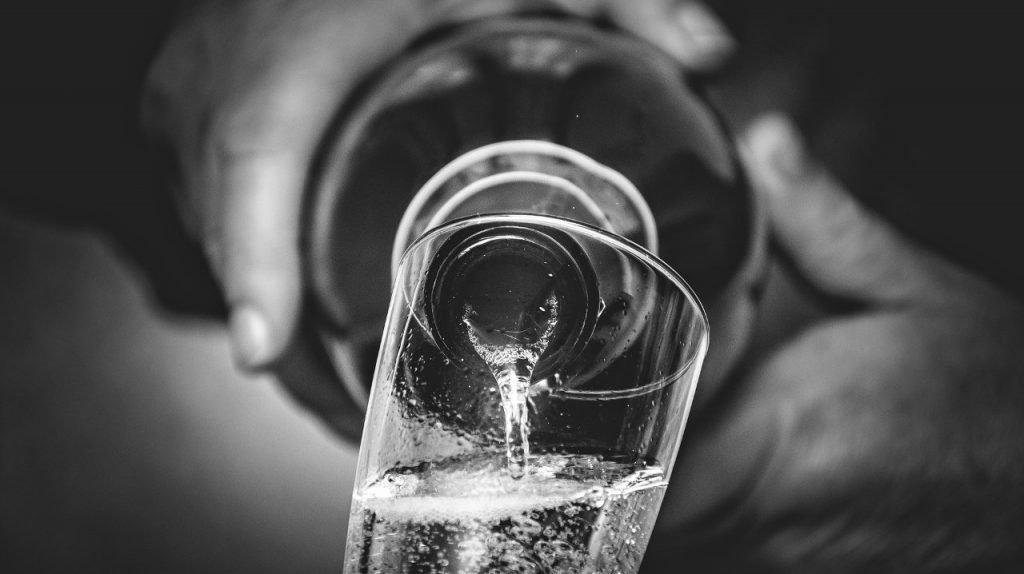pignoleto Dalla Pigia versato nel bicchiere