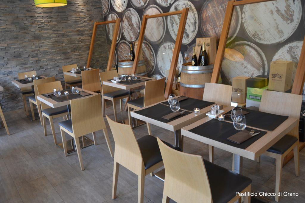 interno ristorantino chicco di grano