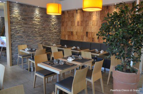 interno ristorante Chicco d'oro