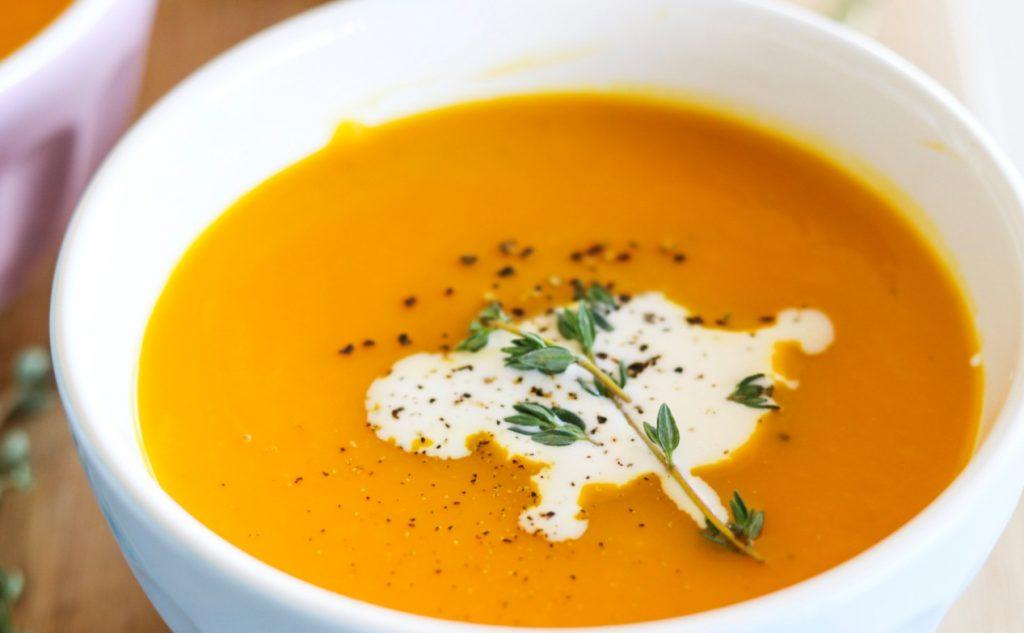 vellutata di zucca zuppe della nonna