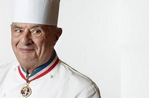 ritratto dello chef Paul Bocuse