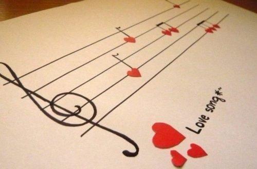 pentagramma conpentagramma con canzoni romantiche per grandi seduttori