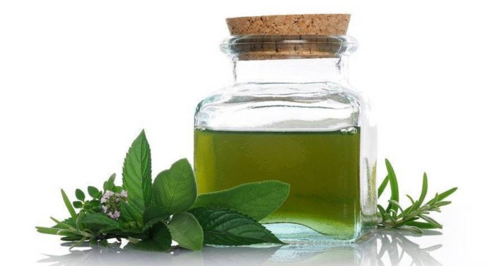 olio d'oliva miscelato ad essenze