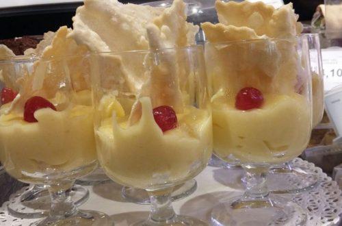 crostoli e crema pasticcera