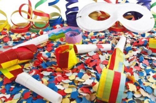maschere coriandoli Carnevali
