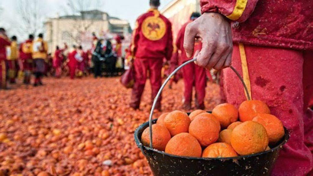 battaglia arance carnevale Ivrea
