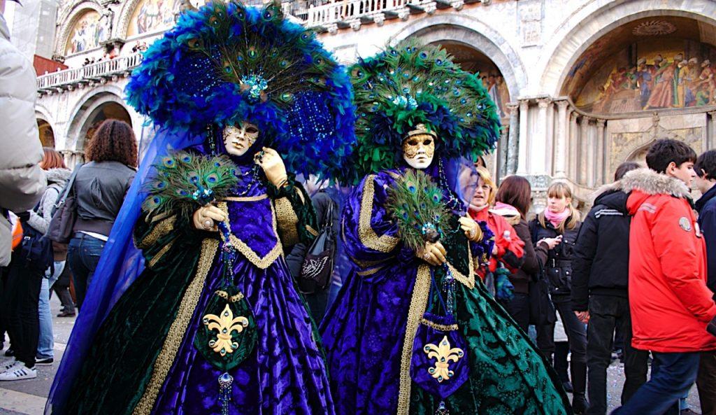 maschere carnevale veneziano