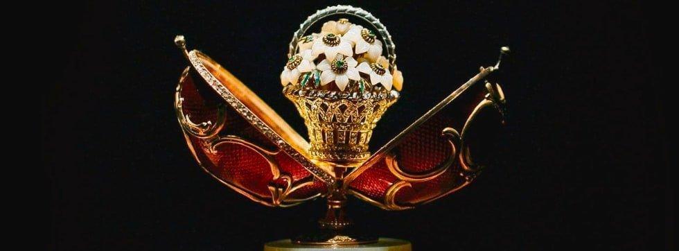 uovo prezioso Fabergè