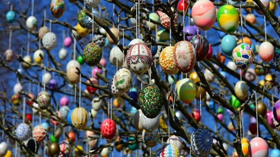scandinavia albero delle uova