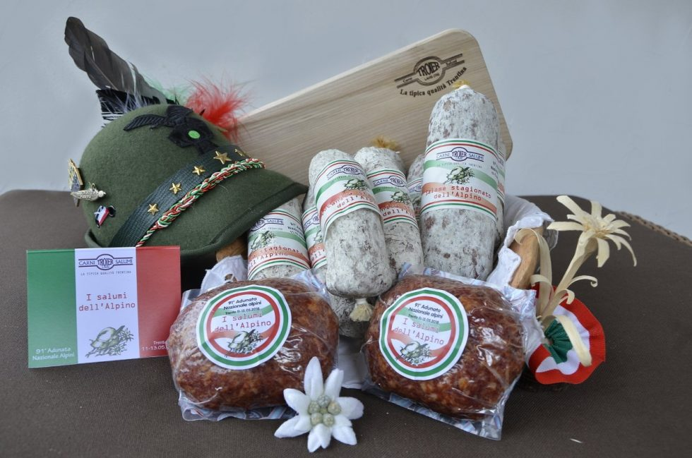 I salumi dedicati all'Alpino