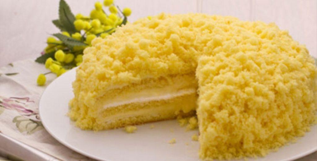 torta mimosa 8 marzo