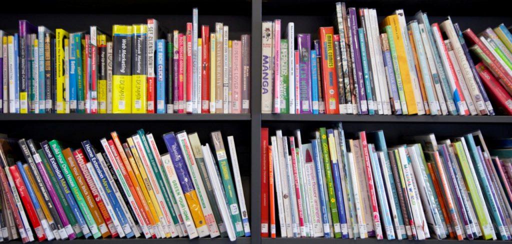 libreria colorata