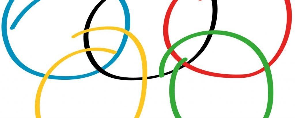 cerchi olimpici stilizzati