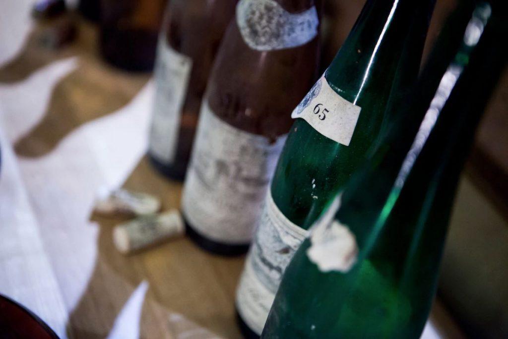sette annate in degustazione vino santo