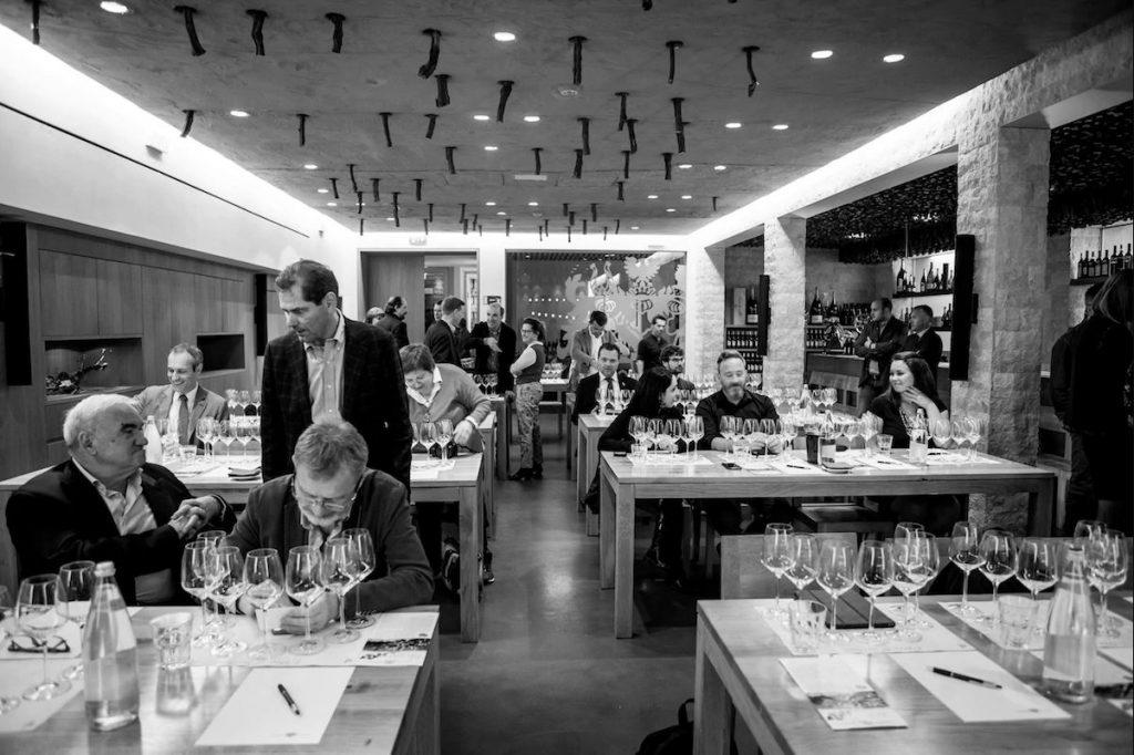 sala di degustazione vino santo