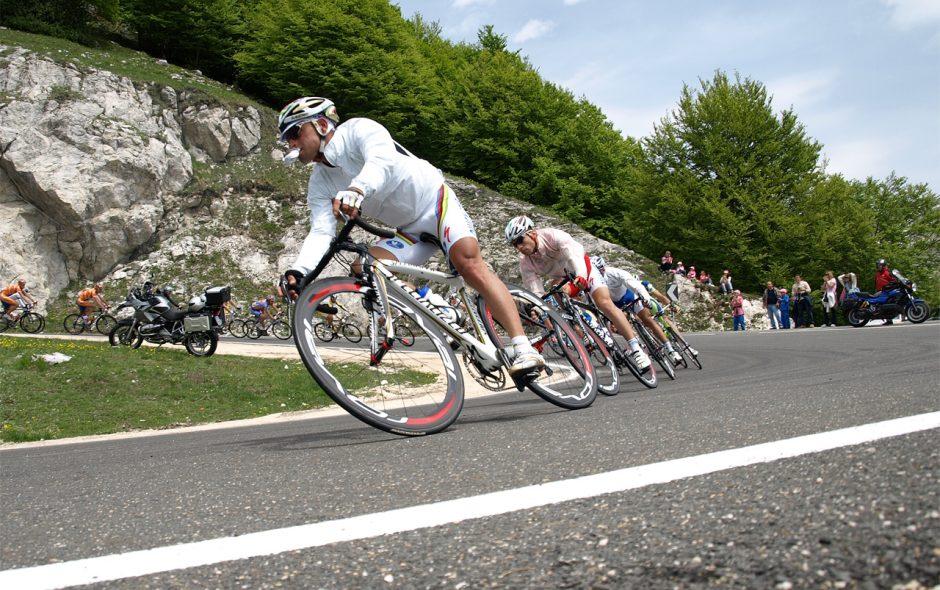 Paolo Bettini al Giro d'Italia