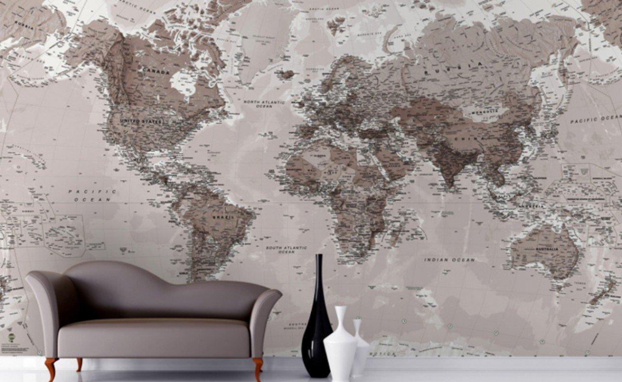 Mappe, la nuova mania per arredare