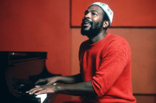 Marvin Gaye al piano