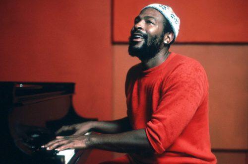 Marvin Gaye al piano