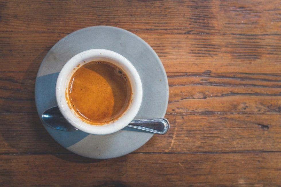 tazzina di caffè per la giornata internazionale