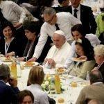 Un pranzo etico con Papa Francesco
