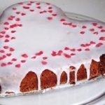 Torta soffice vegana per San Valentino