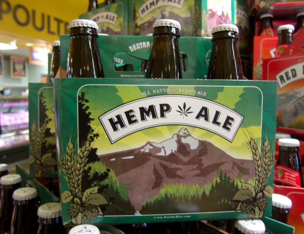 birra di canapa aumenta l'interesse