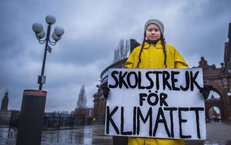 Greta Thunberg e il cambiamento climatico