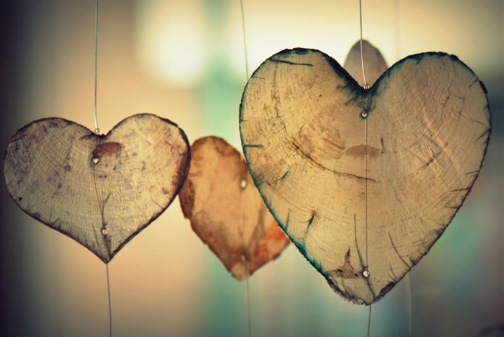 cuori trasparenti ovunque e comunque san valentino
