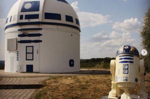 Osservatorio Astronomico si traveste da R2-D2
