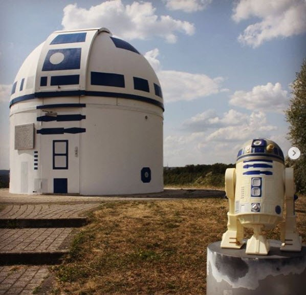 L'Osservatorio Astronomico si traveste da R2-D2