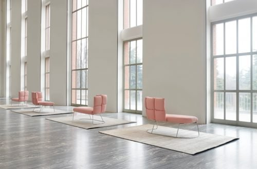 Undecided sofas by Mangiarotti Suppanen for Manerba-Triennale Milano
