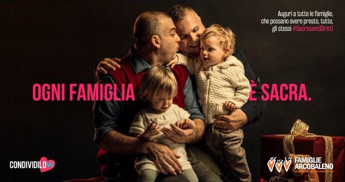 famiglie arcobaleno genitori allo stesso modo