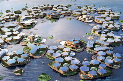 città del futuro sarà isola flottante