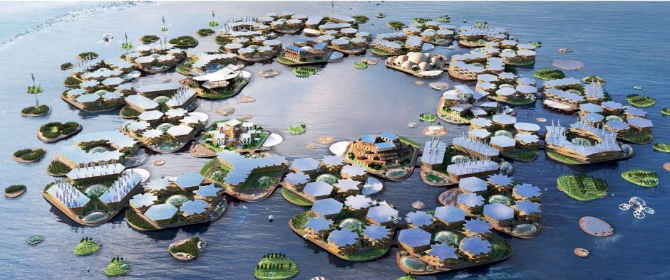La città del futuro sarà un'isola flottante