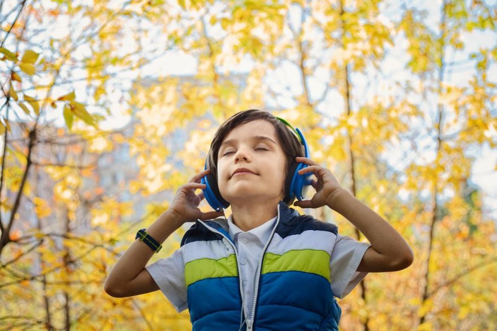 un udito nuovo di zecca come nei bambini