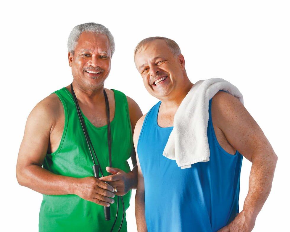 è l'attività fisica la nuova crisi di mezza età