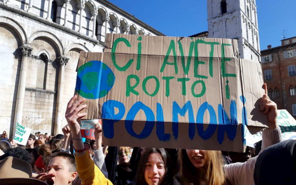 greta i giovani ecologisti e l'odore della paura