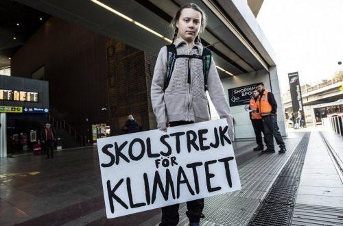 tutta l'etica green di Greta Thunberg