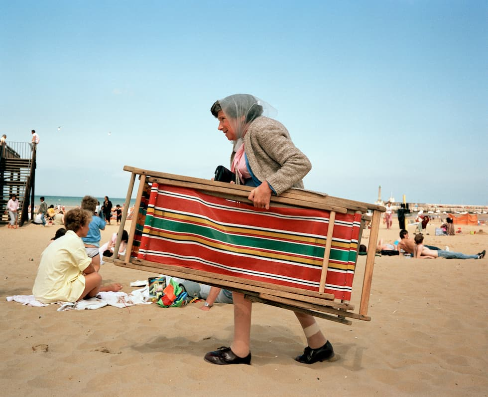 fotografia mostra beach