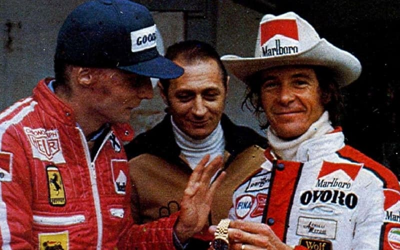 Niki Lauda se ne va il computer della F1