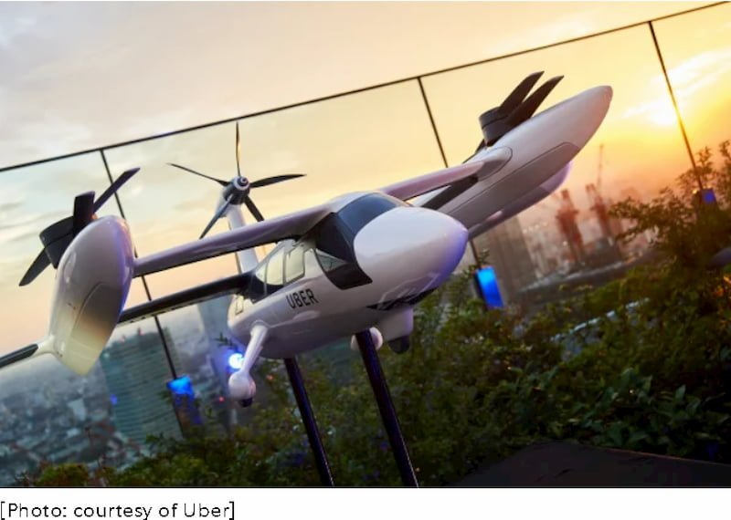 uber elicotteri aeroporti