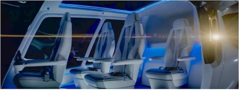 auto volante idrogeno drone