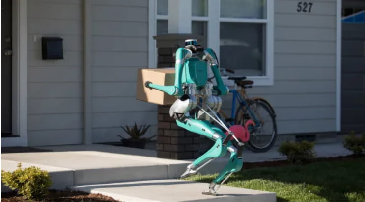 Vi spaventa una consegna robotica?