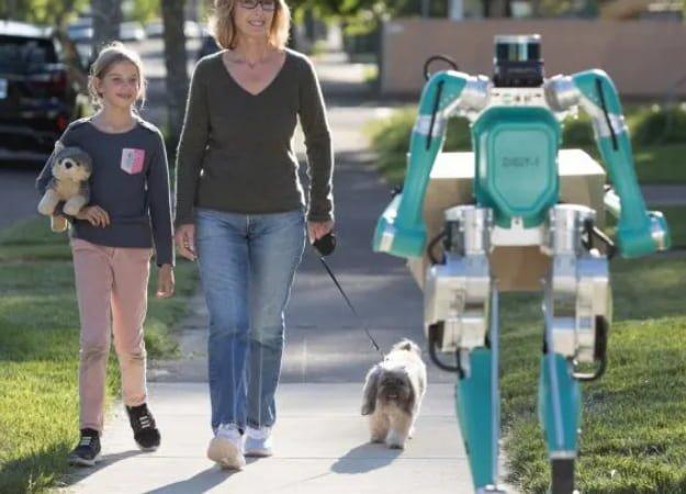 consegna robotica A.I. automazione