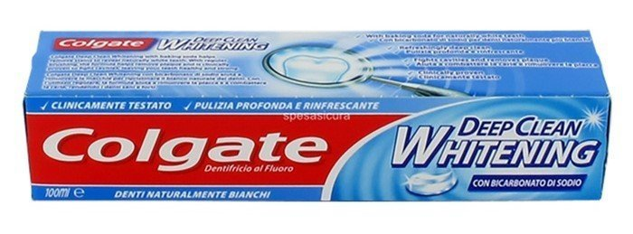 tubo pasta dentifricia