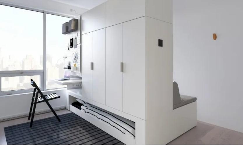 raddoppiare appartamento mobili