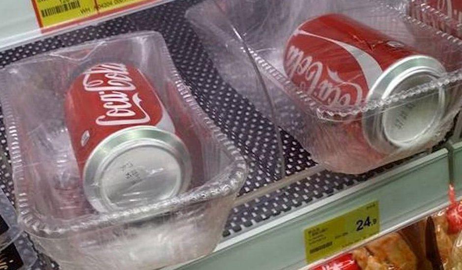 La follia del packaging inutile