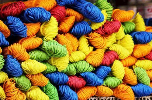 tessuto filati colore gas